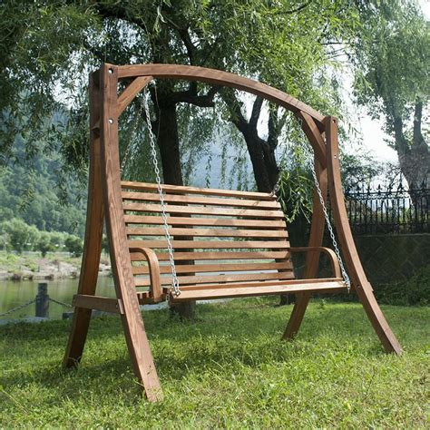 Patio Swing Chair Outdoor Swinging Chair With Stand Chairs Seating