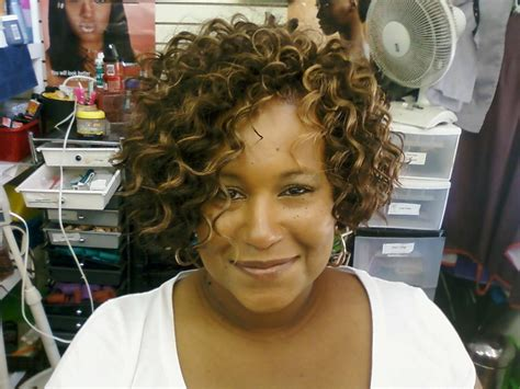show me pics of curly wavy sew in styles sew in s natural hair pinterest beautiful bobs