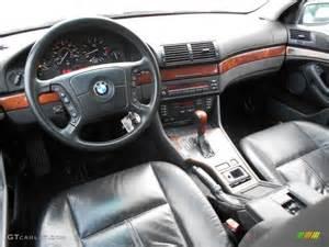 black interior 2001 bmw 5 series 525i sport wagon photo