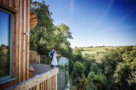 treehouse wedding venue west uk tree top escape tree house truly wedding venues