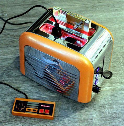 Nintendo Toaster For Sale nintoaster a fully functional nintendo console made from a toaster foodiggity