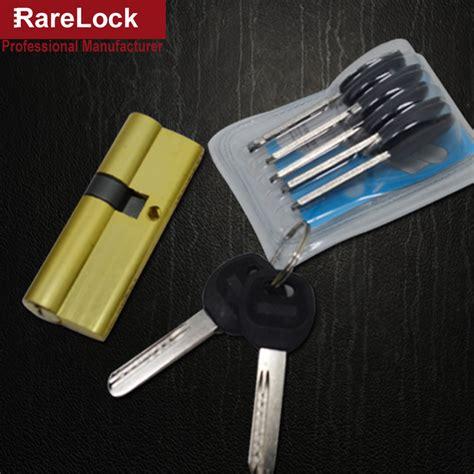 aliexpress com buy 2 pieces door lock interior door lhx mms436 9 size handle door lock cylinder with 7keys for