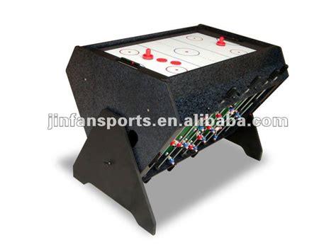 air hockey soccer table 3 en1 football airhockey billard multi table de jeu
