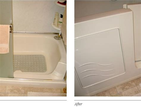 bathtub conversions walk in bathtubs before and after walk in tub conversion 5 walk in bathtubs