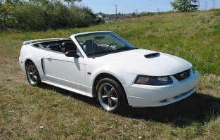 2003 Ford Mustang Convertible Oxford White 2003 Ford Mustang Gt Convertible