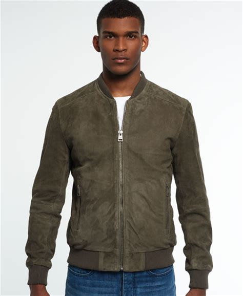 Superdry Suede Bomber Jacket superdry set suede bomber jacket mens idris jackets and