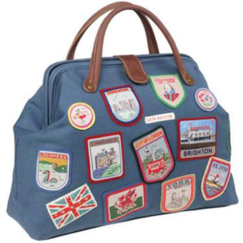 Dutchys Nana Doctor Bag by Vintage Style Doctors Bag With Badges By Cath Kidston