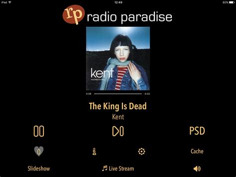 radio paradise spinning today what are you listening to right now