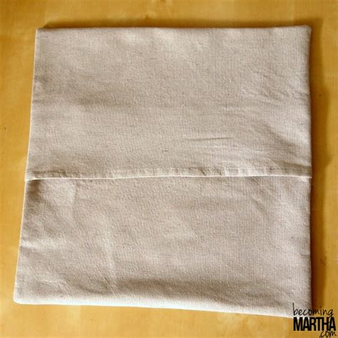 Drop Cloth Pillow Covers easy envelope pillow cover from a drop cloth becoming martha