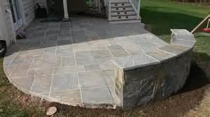 multi level concrete deck salzano custom concrete projects