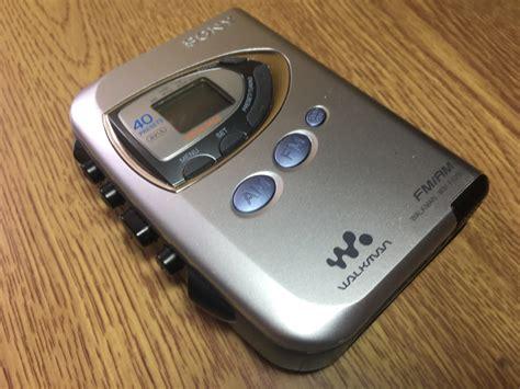 cassette radio player sony wm fx290 walkman fm am radio cassette player