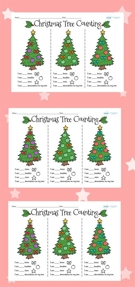 printable christmas resources 17 best images about sen learning on pinterest math