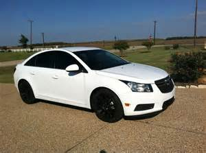 chevy cruze white with black rims search cars