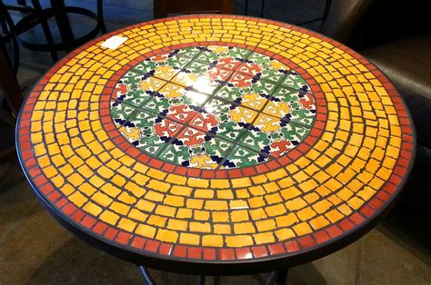 mosaic tile table tops images frompo