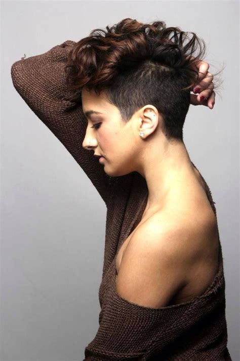 short hair cut curly large head 6 cute and fashionable curly pixie cut looks hairstylesout