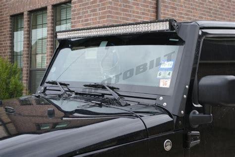 jeep jk 50 light bar jeep jk 50 quot light bar mounts at motobilt