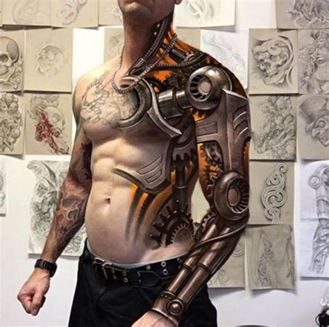 3d tattoos for men 155 best 3d tattoos designs for 2018