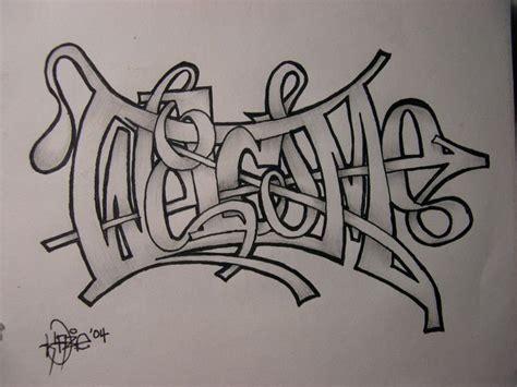 doodle tengkorak 150 gambar grafiti tulisan huruf nama 3d keren mudah