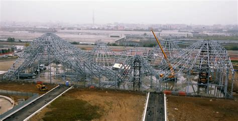 Supersize Mi Lano by Drone Documents Construction Progress At Milan S 2015 Expo