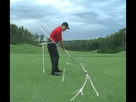 ideal golf swing path the proper path of the golf swing youtube