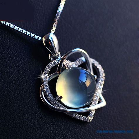 cheap li jin 925 sterling silver necklaces soulmate