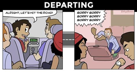 going on a road trip expectation vs reality