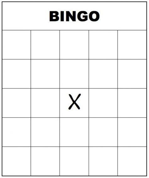 create your own bingo card template free printable bingo cards for and adults
