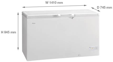 Freezer Sharp Frv 300 haier bd 429raa 141cm wide 429 litre chest freezer white