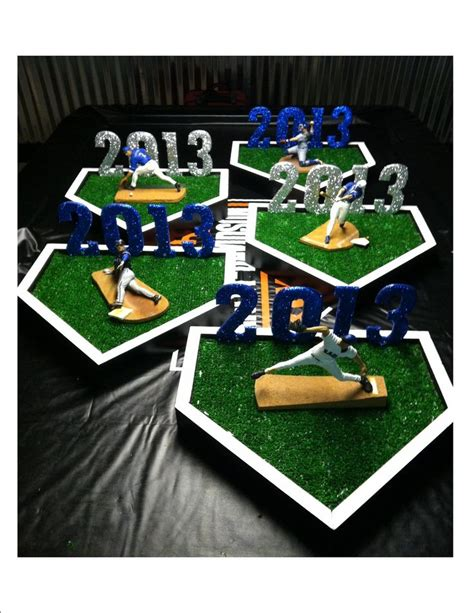 Baseball Table Decoration Ideas by 62 Best Images About Senior Baseball Banquet Ideas On