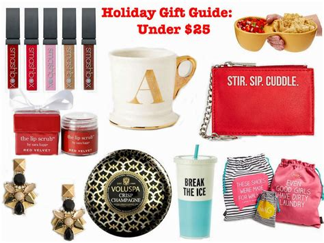 holiday gift guide under 25 chagneista