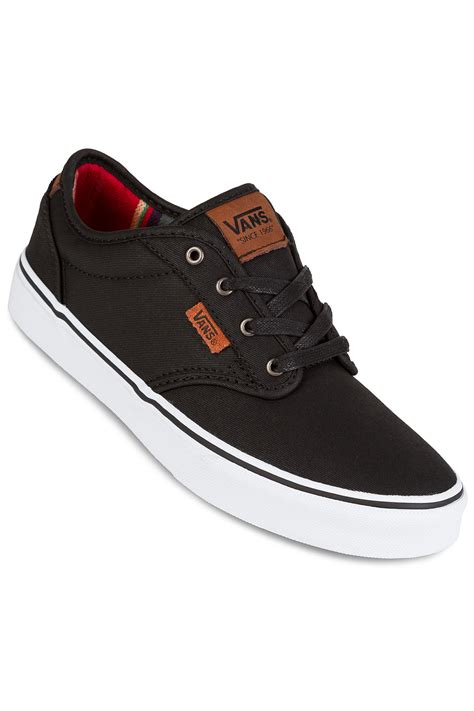 where to buy kid shoes vans atwood dx shoes waxed black buy at skatedeluxe