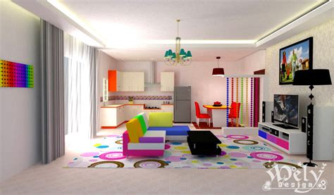 colorful family rooms colorful living room by melyani on deviantart