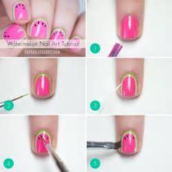 watermelon nail art tutorial the nailasaurus uk nail