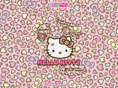 hello kitty cheetah wallpaper pink hello kitty wallpaper october 2014
