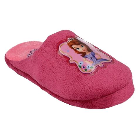 house slippers for girls girls sofia the first house slippers ebay
