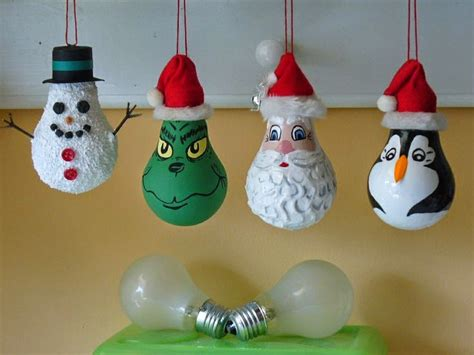 light bulb christmas ornaments nifymag com