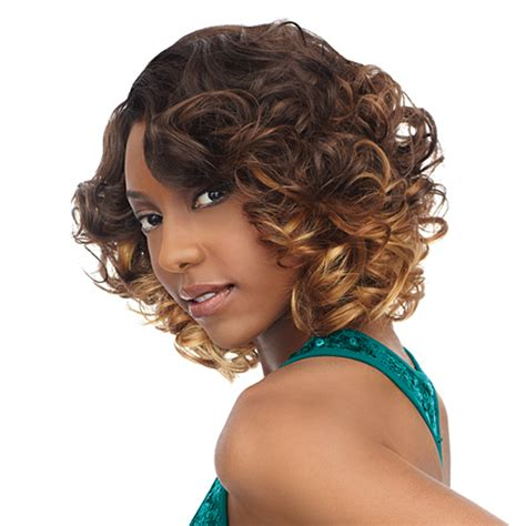 romance curls and short hair sensationnel human blend weaving premium too shorty