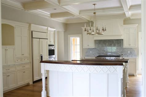 Coffered Ceiling In Kitchen coffered ceiling kitchen traditional kitchen tiek built homes