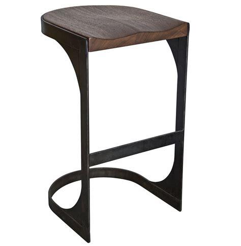 rustic industrial bar stools andie industrial loft modern rustic wood metal barstool