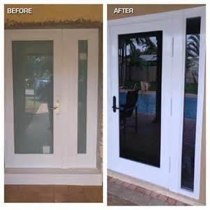Hurricane Proof Front Doors Before And After Photos Hurricane Resistant Patio Doors Impact Windows Custom Entry Doors