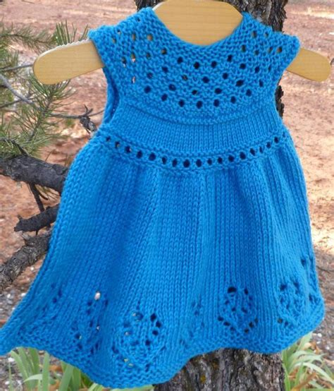 pattern dress knit lilly rose baby dress by taiga hilliard craftsy