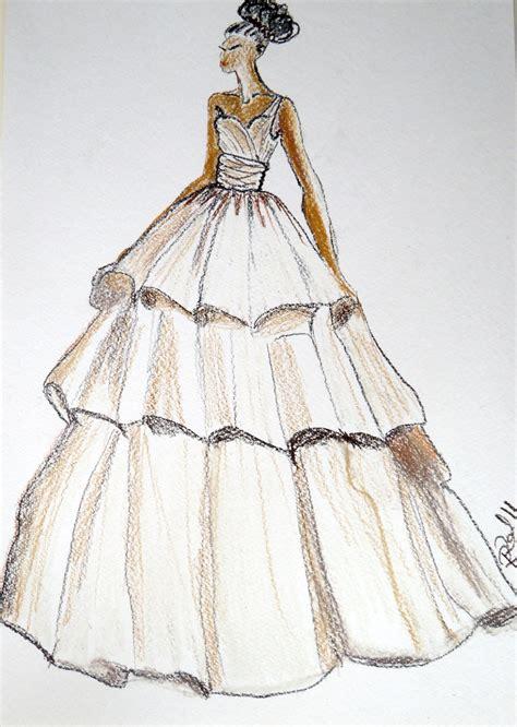 brautkleider zeichnungen wedding dress drawing custom siren wedding dress by