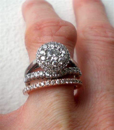 Wedding Ring Gap by Wedding Rings Engagement Wedding Ring Gap White Gold