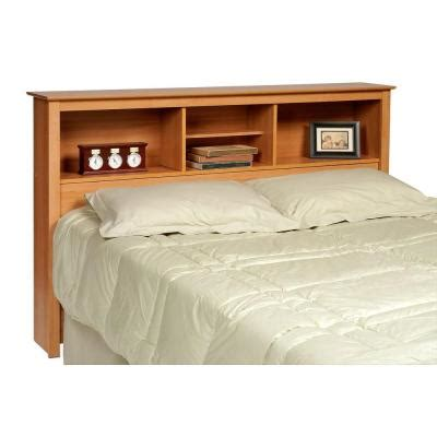 expanded queen headboard prepac sonoma maple double and queen headboard msh 6643