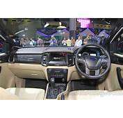 2015 Ford Everest Interior Launched At The Indonesia