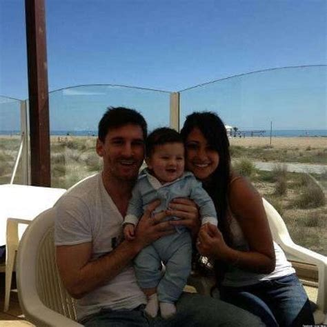 messi born new baby lionel messi shares picture of baby boy thiago at the