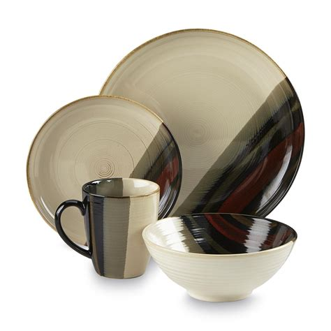 sango alpha white 16 piece dinnerware set