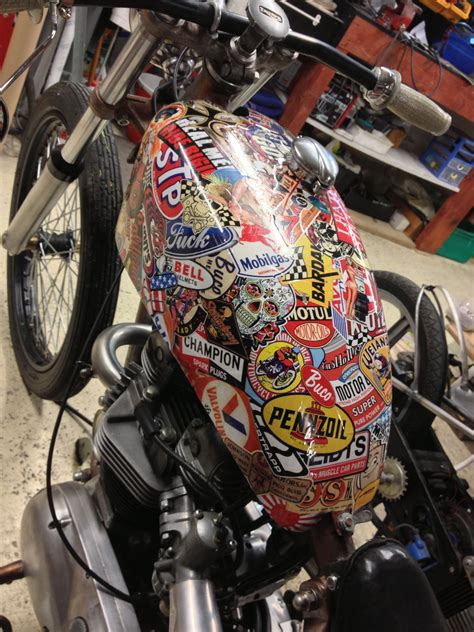 Tank Aufkleber by Tank Stickers Airbrushed Stuff Bobbers