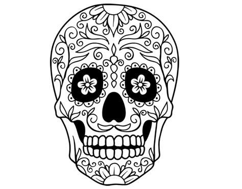 imagenes de calaveras hermosas dibujos de calaveras mexicanas para imprimir y pintar