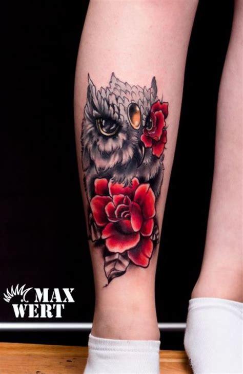 tattoo owl rose owl roses tattoo birds tattoos ideas pinterest rose